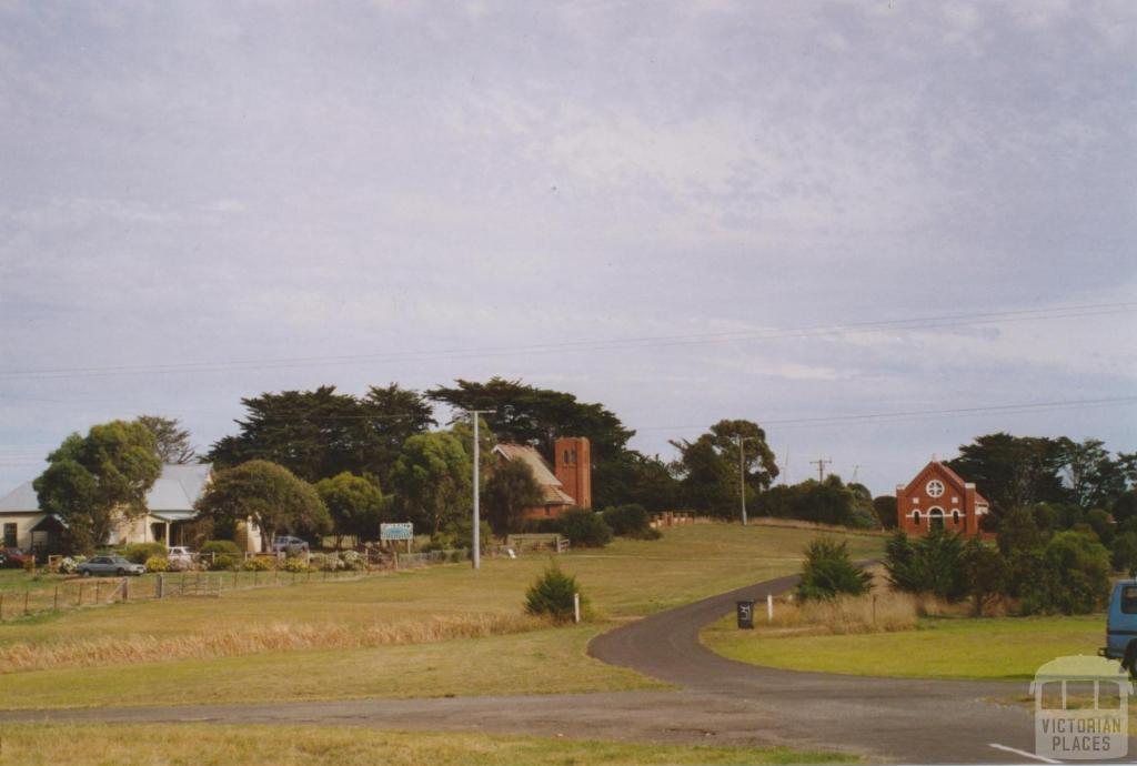 Catholic and Church of England churches, Yambuk, 2006