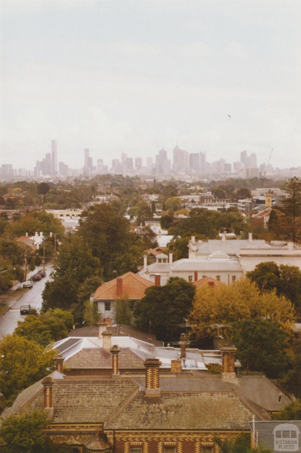 Looking west from Oxley Road Uniting Church, Auburn, 2007