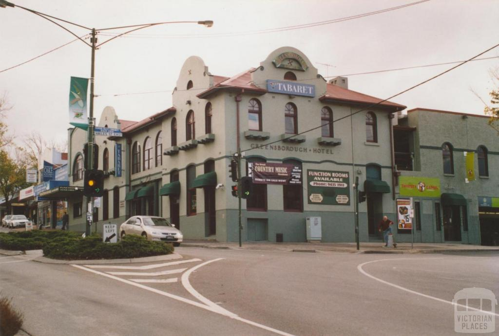 Greensborough Hotel, 2007