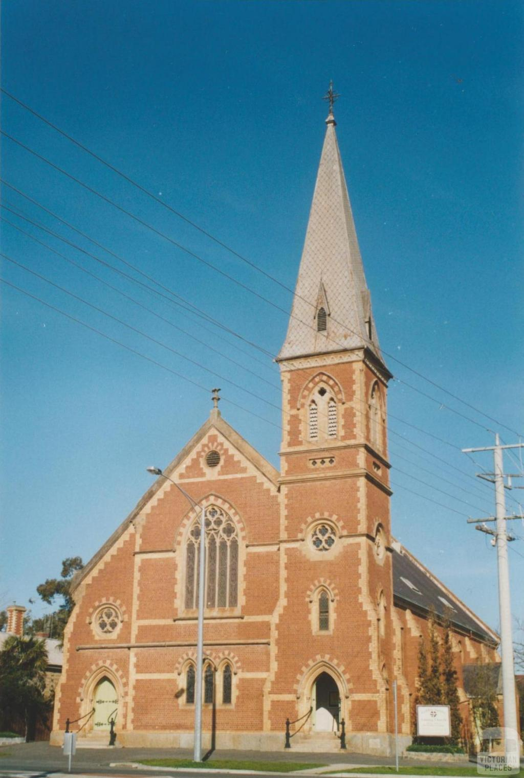 Golden Square Uniting Church, Panton Street, 2007