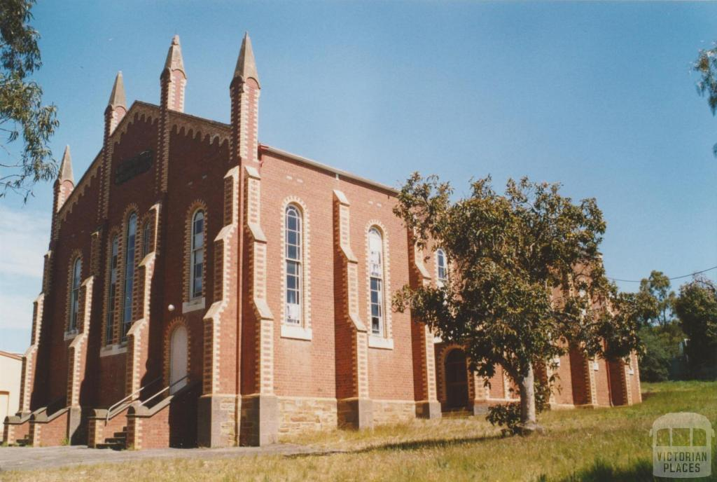 California Hill Methodist Church, Esler Street, 2007