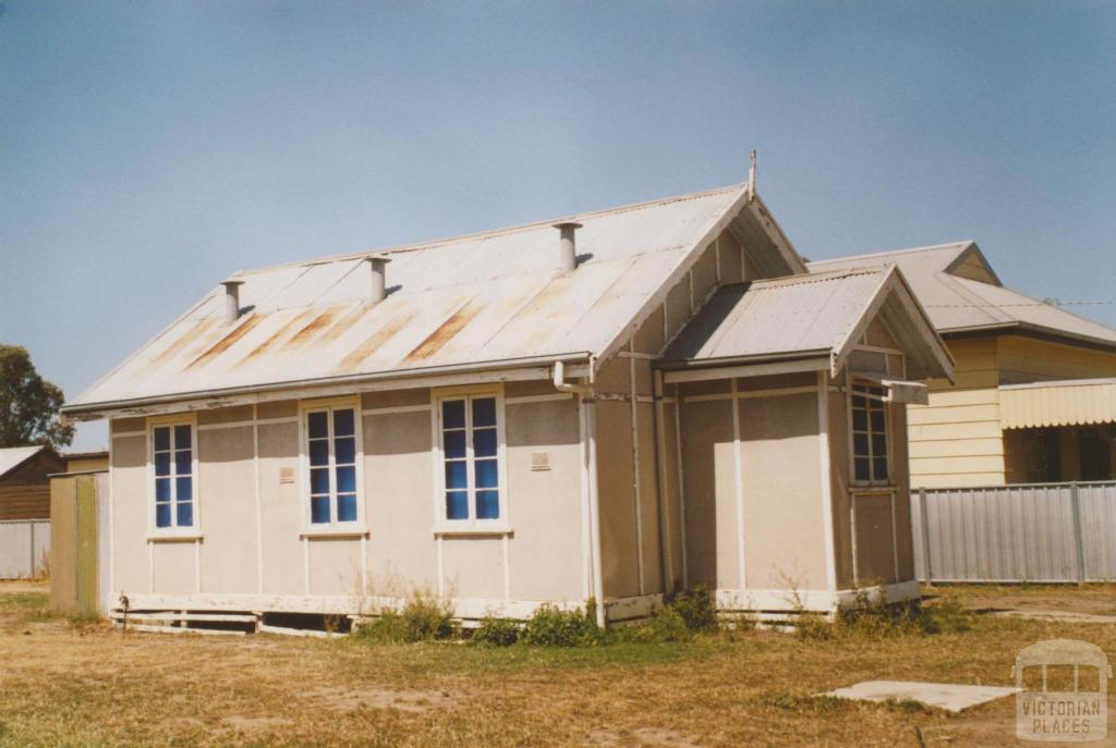 Mystic Park church hall, 2007