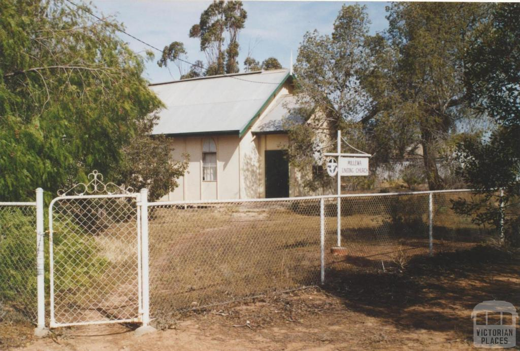 Millewa Uniting Church, 2007