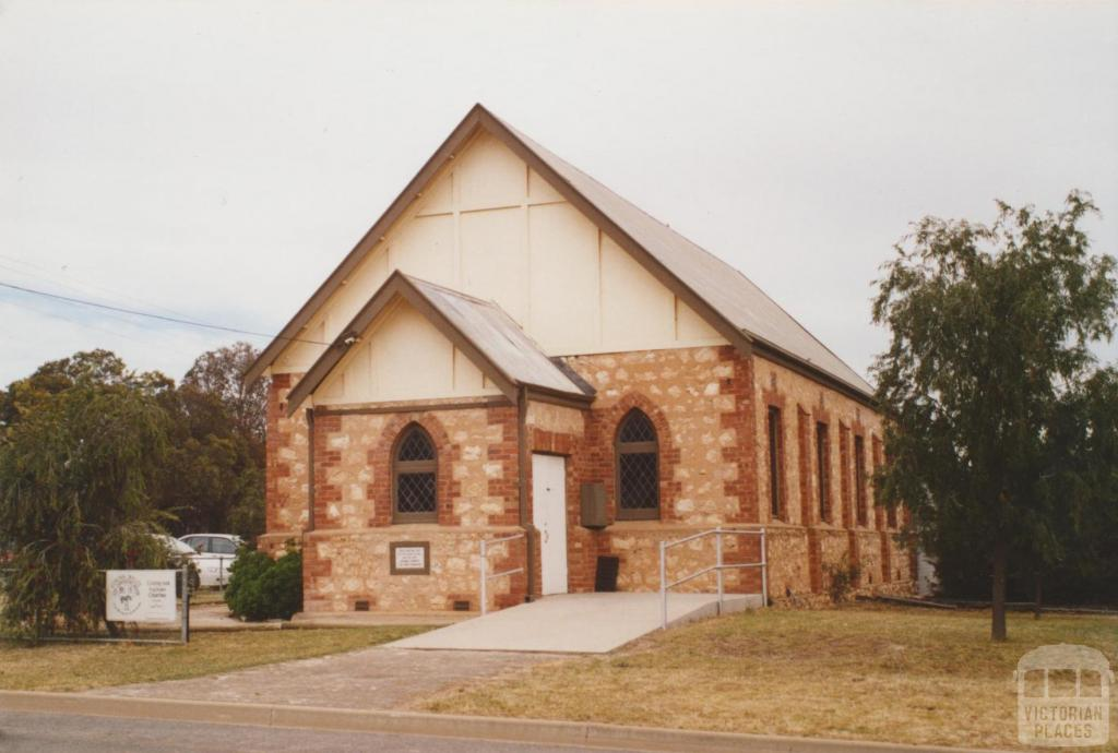 Uniting and Anglican Church, Underbool, 2007