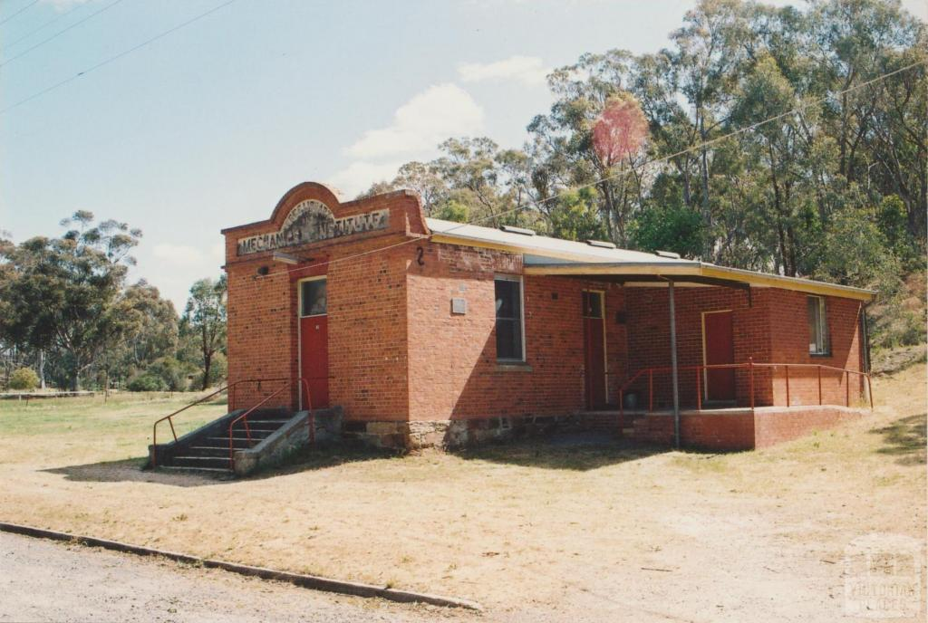 Mechanics' Institute, Yandoit, 2007