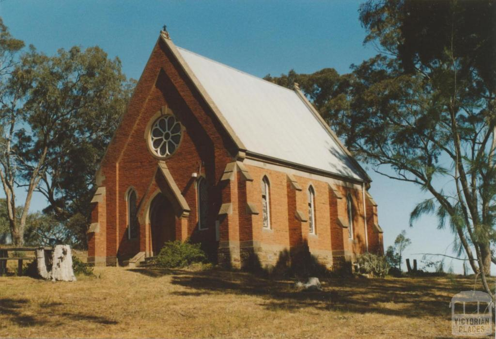 Mount Franklin, Franklinford (former Anglican) Church, 2007