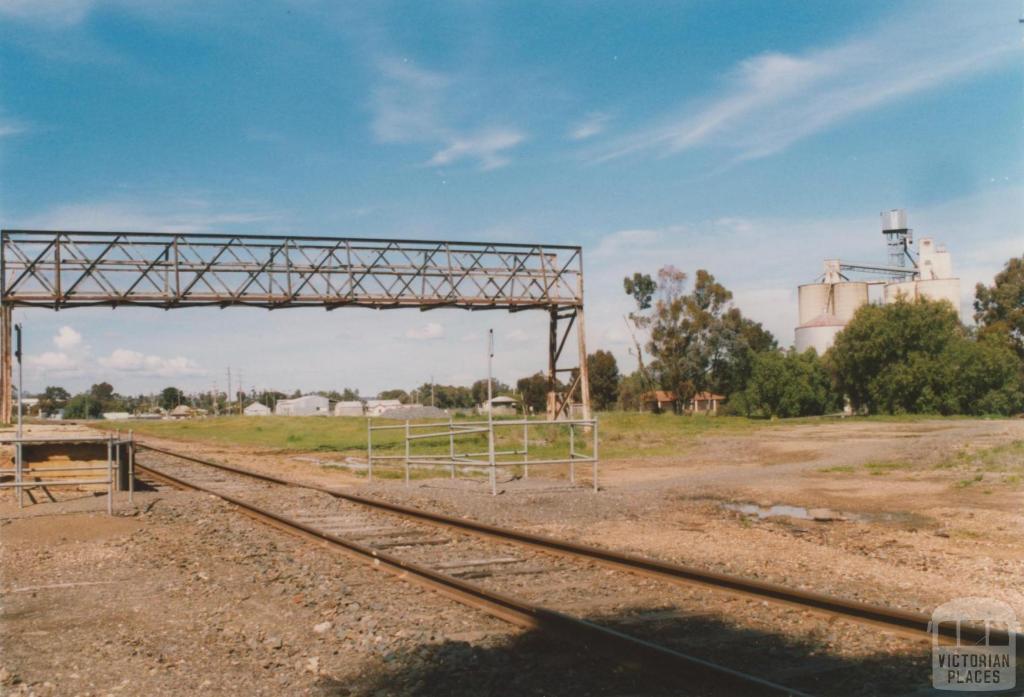 Charlton railway station site, 2008
