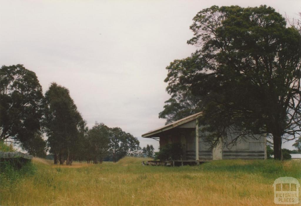 Henty rail station, 2008