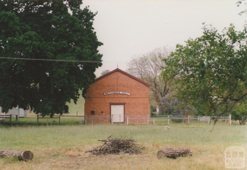 Mechanics' Institute, Sandford, 2008