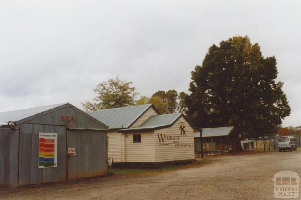 Wooragee CFA and hall, 2010