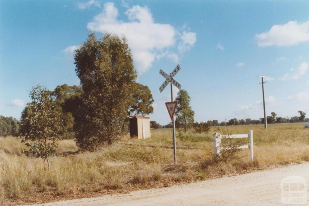 Former rail stopping place, Lilliput, 2010