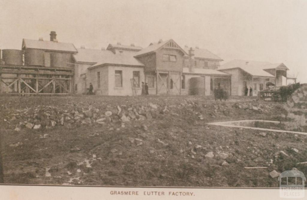 Grassmere butter factory, 1905