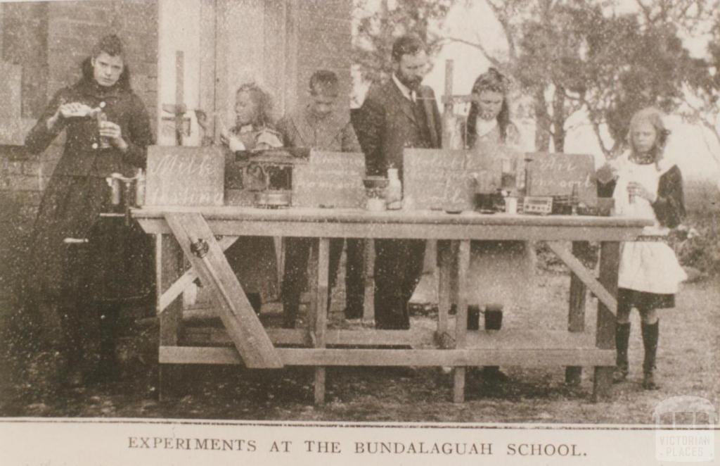 Experiments at Bundalaguah school, 1909