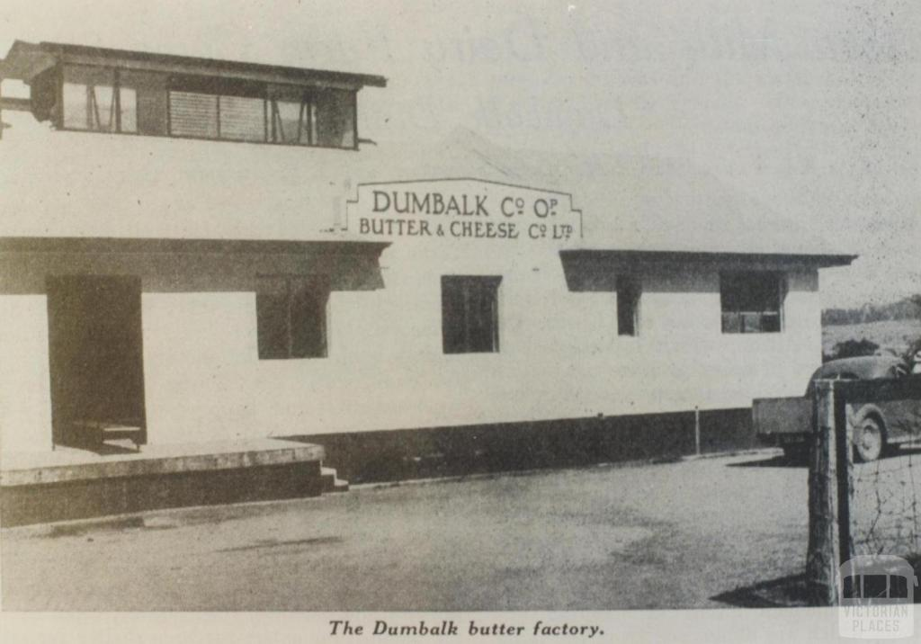 Dumbalk butter factory, 1940