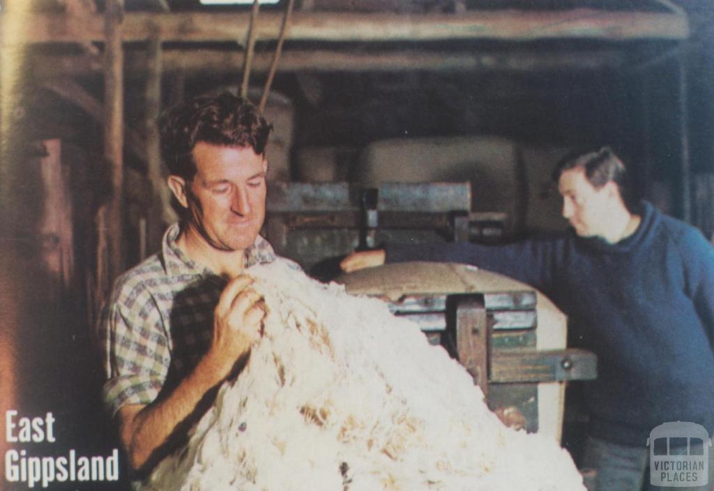Dick Kyle, Goon Nure pastoralist, Secretary Gippsland Sheep Breeders Assoc, 1967