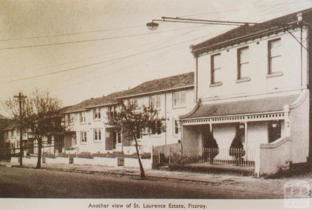 St Laurence Estate, Fitzroy, 1956