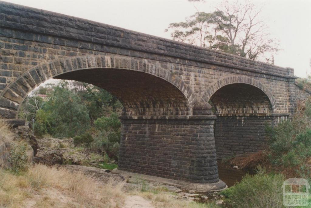 Bridge (1870), Sunbury Road, Jacksons Creek, 2010