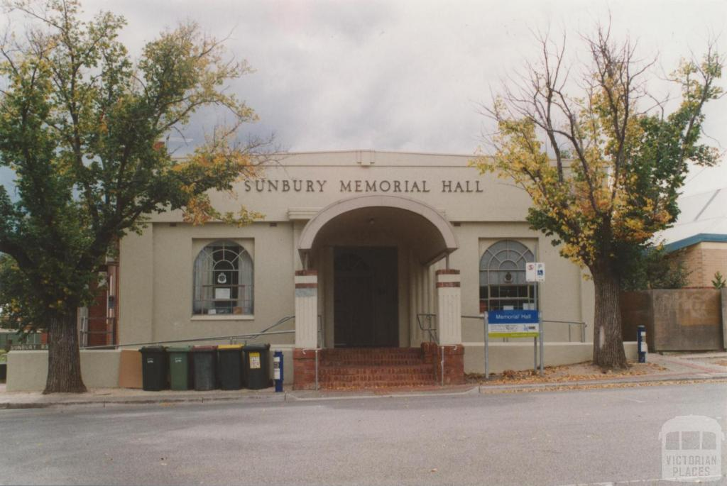 Sunbury memorial hall, 2010