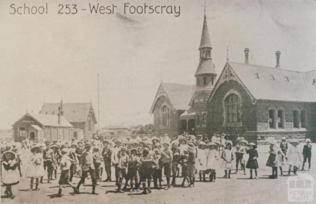 School 253 - West Footscray, 1917