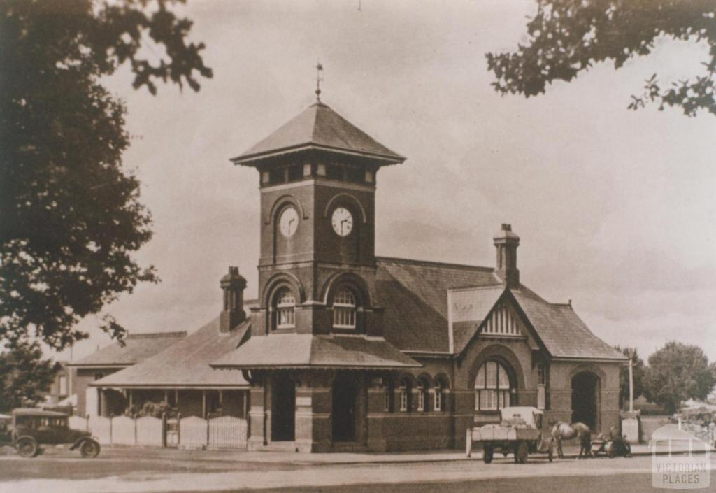 Post and telegraph office, Terang