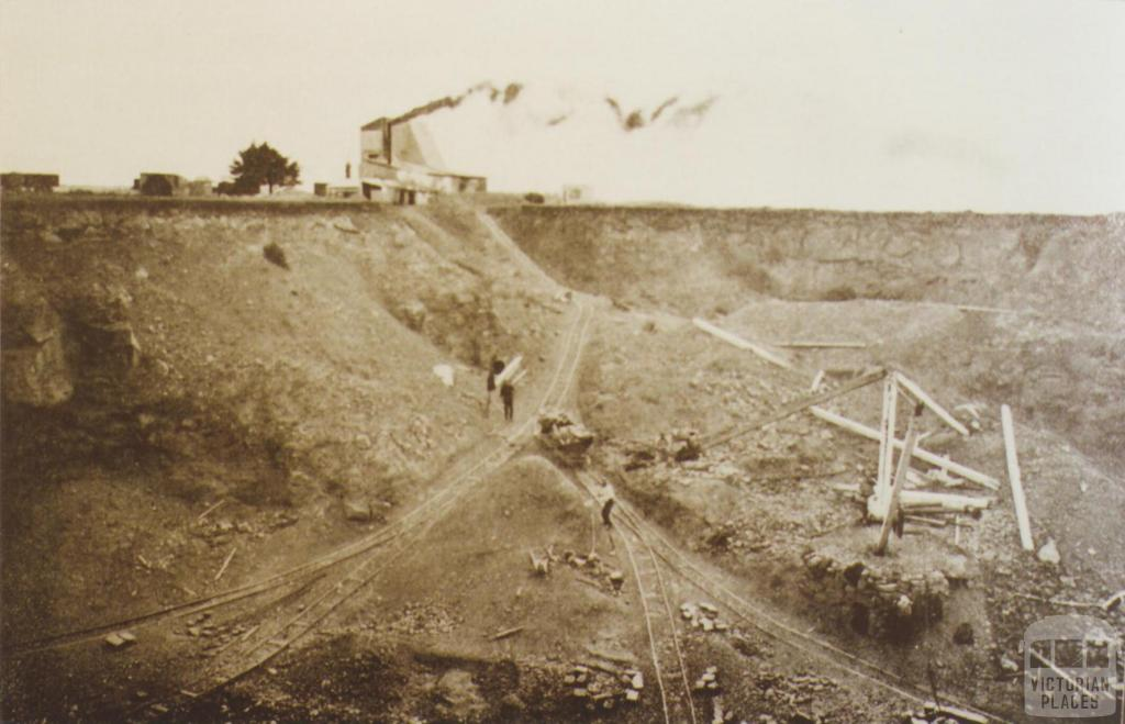 Prahran Council quarry, Brooklyn, 1912