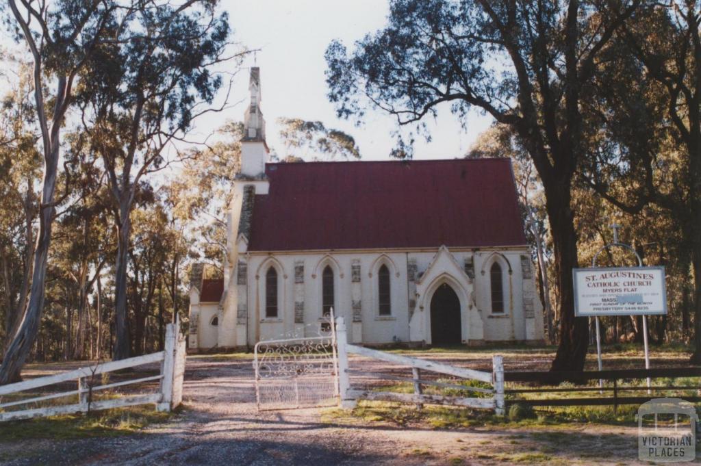 St Augustines Roman Catholic Church (1864), Myers Flat, 2010