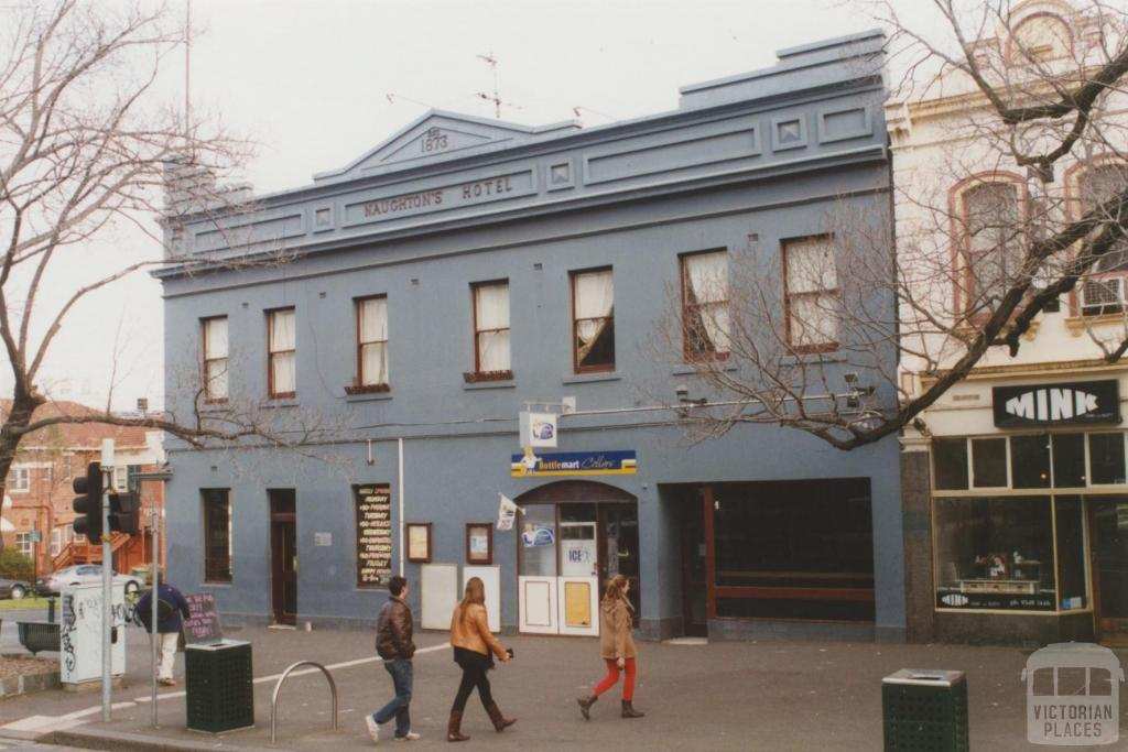 Naughtons Hotel, Royal Parade, Parkville, 2010