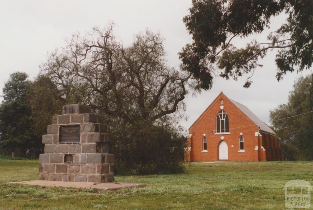 Tilly Aston memorial, Uniting Church, Carisbrook, 2010