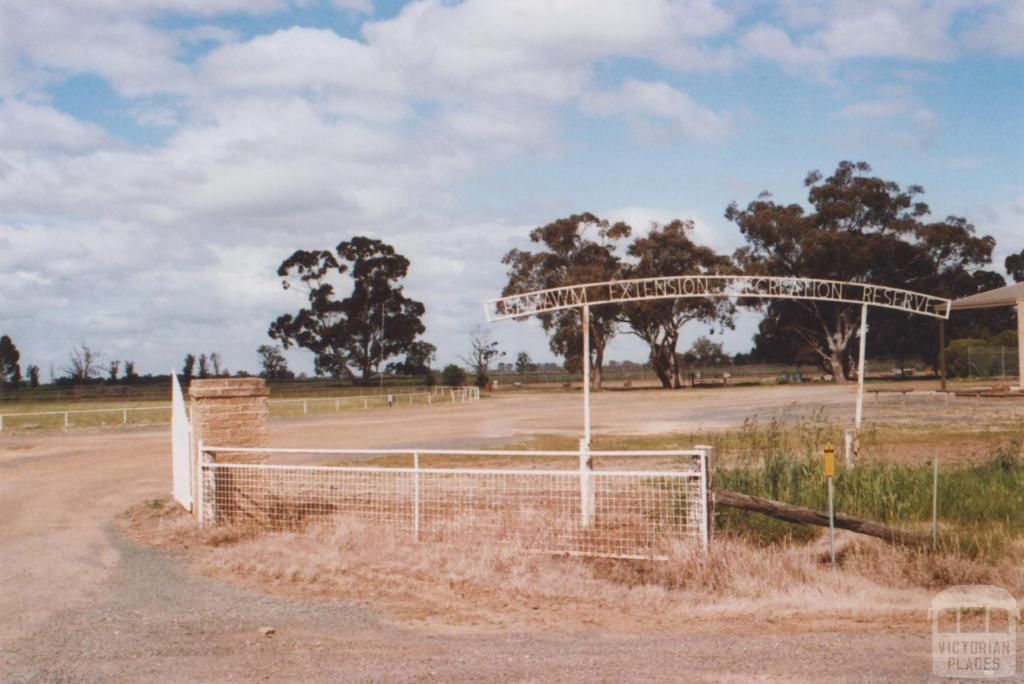 Extension Recreation Reserve, Bamawm, 2010