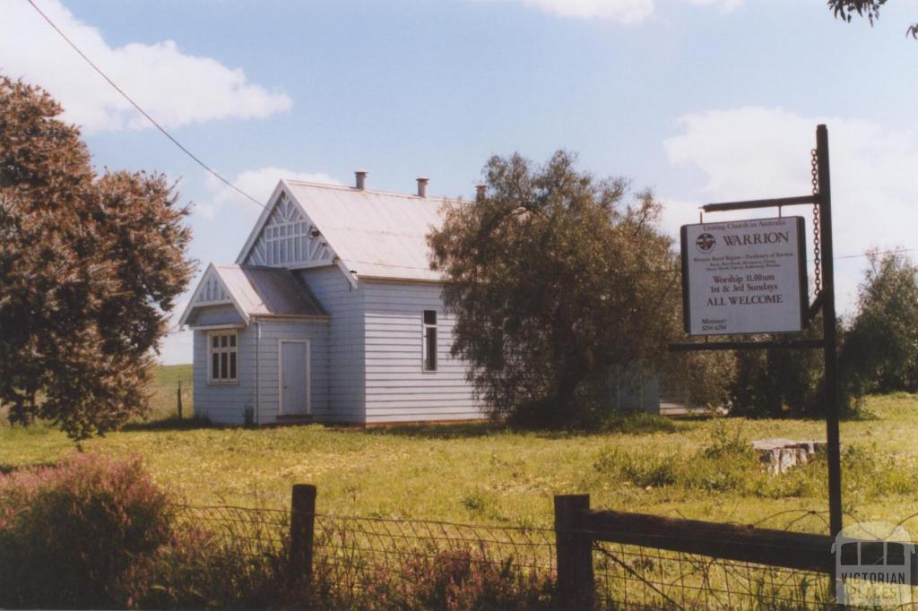 Uniting Church Hall, Warrion, 2010