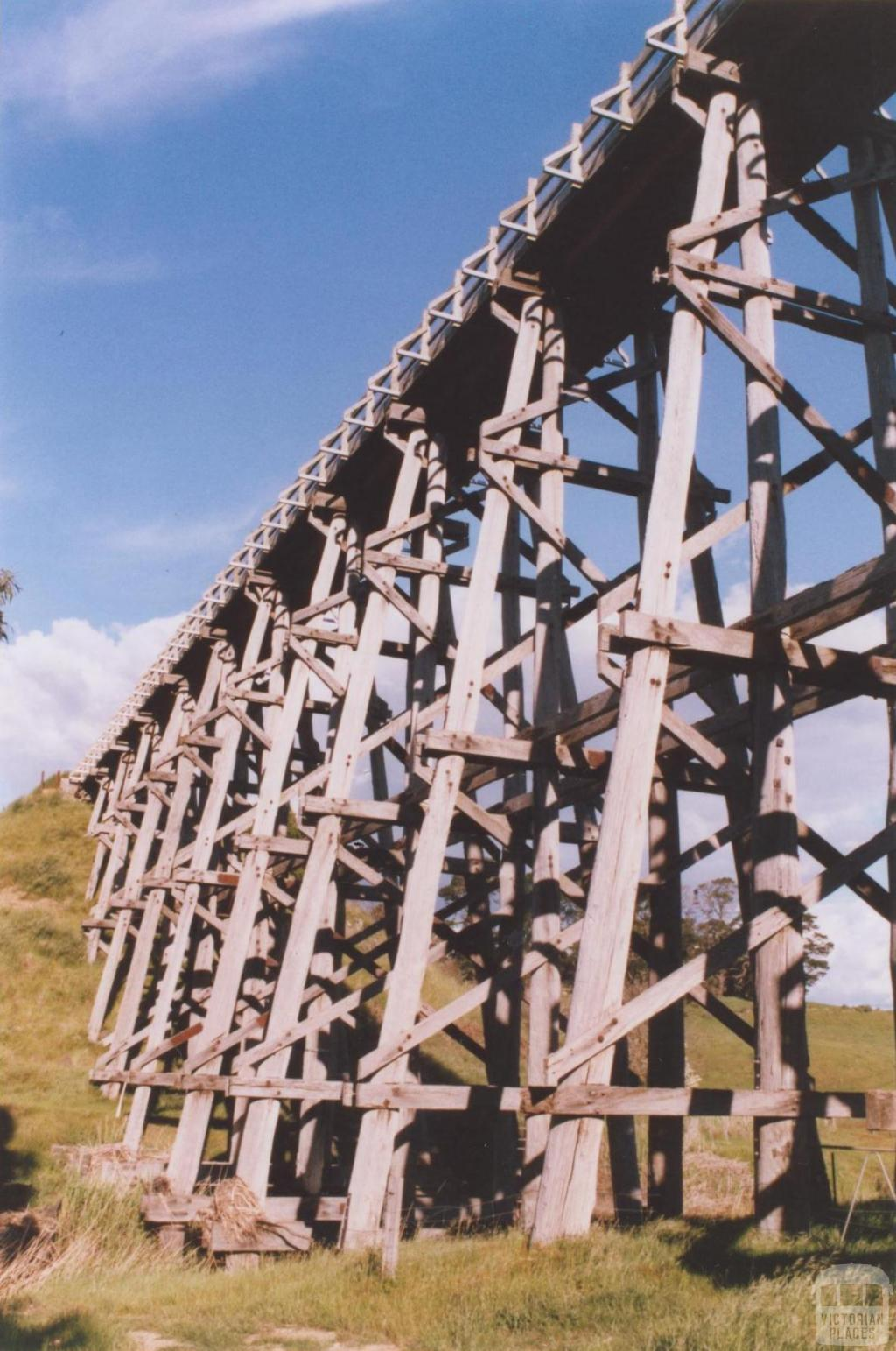 Nimmons Railway Bridge, Newtown, 2010
