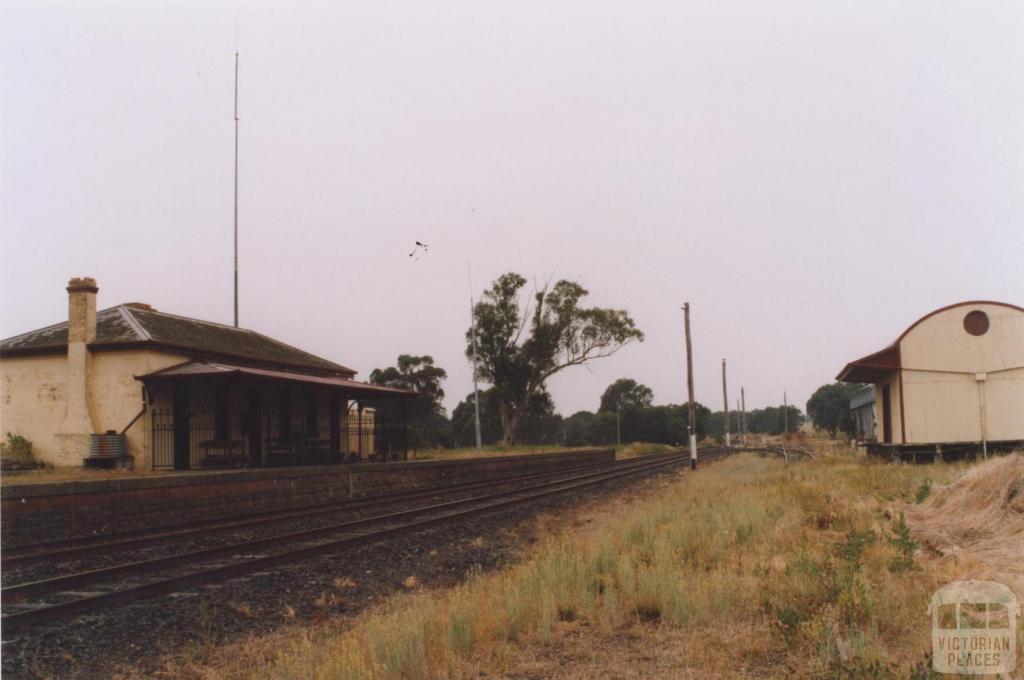 Former Railway Station, Glenthompson, 2011