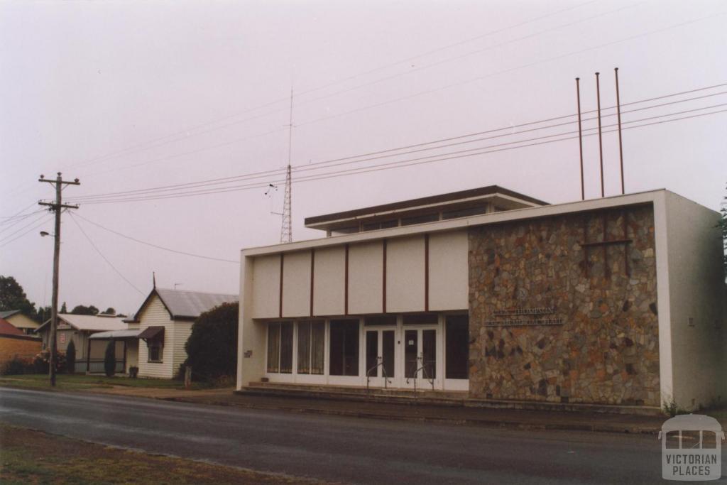Memorial Hall, Glenthompson, 2011
