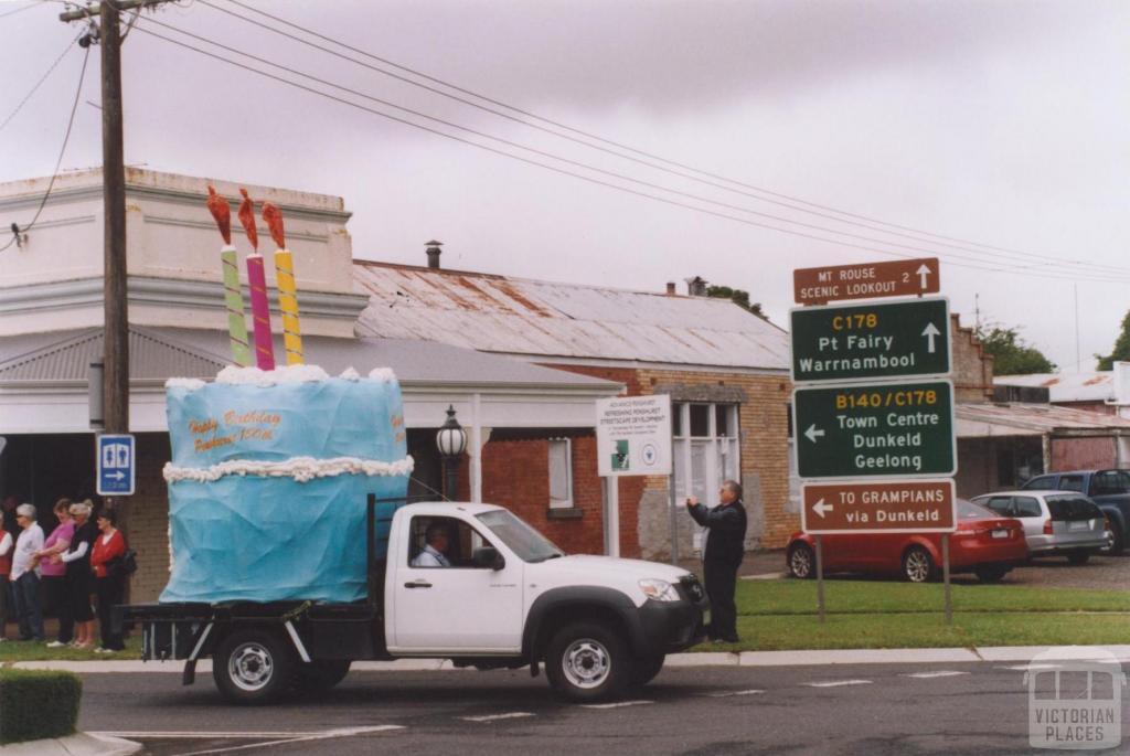 150th Anniversary (cake) Procession, Penshurst, 2010