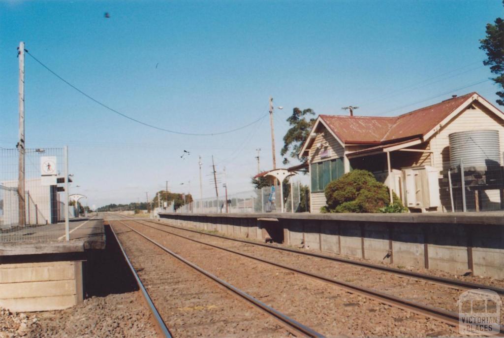 Railway Station, Donnybrook, 2011