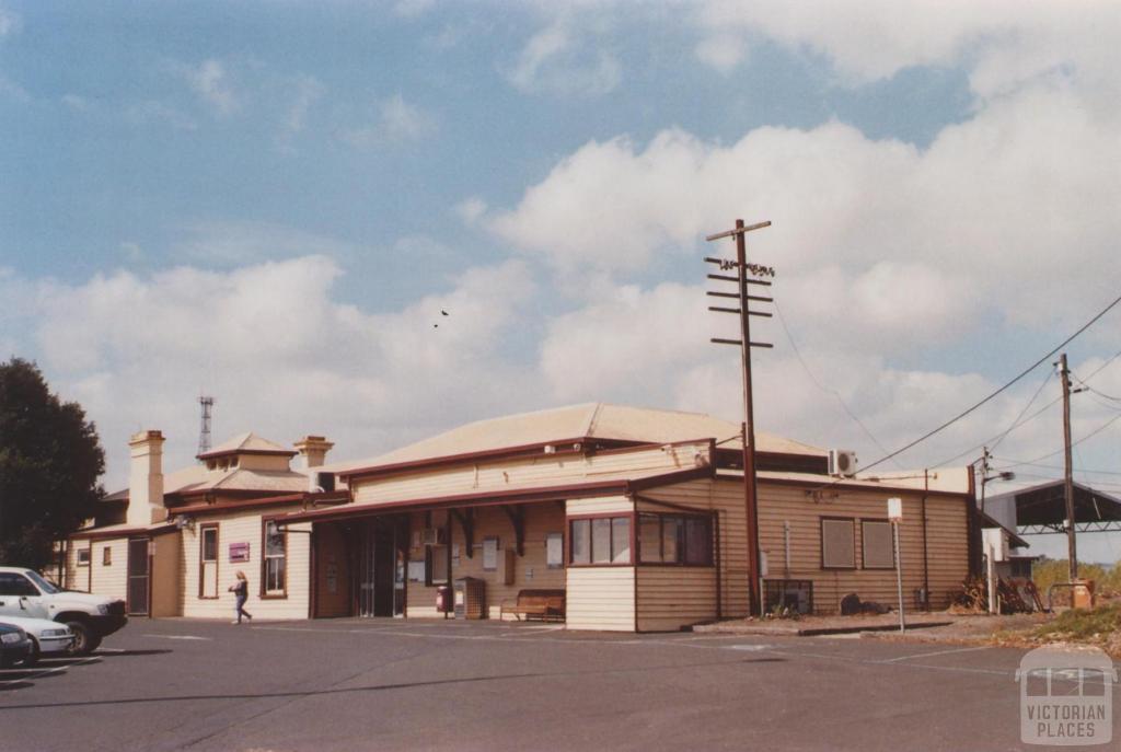 Railway Station, Colac, 2013