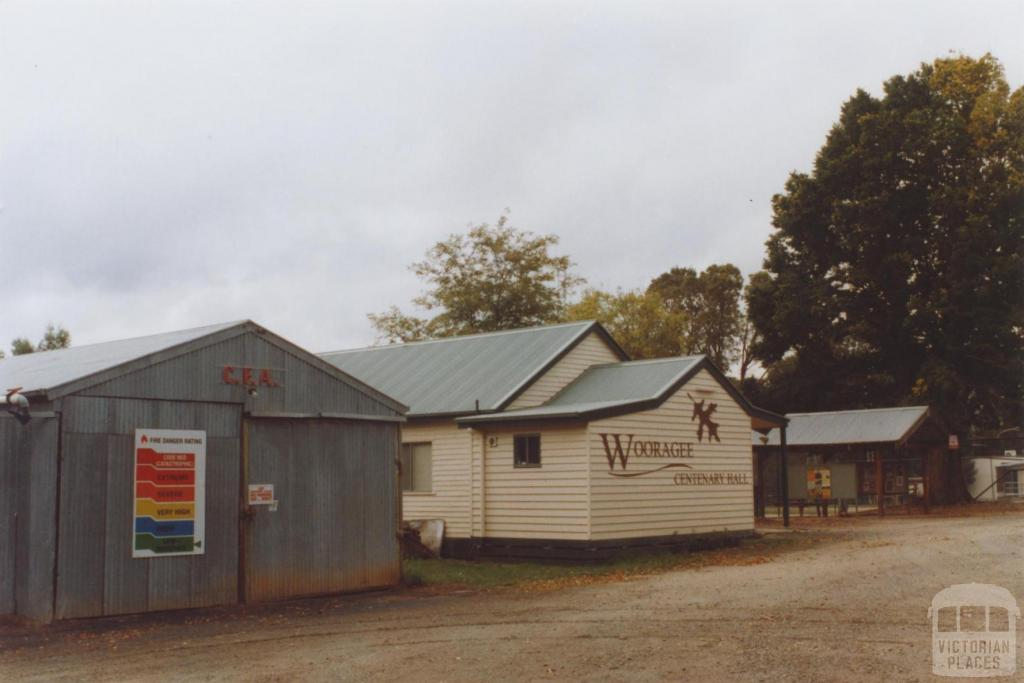 CFA and Hall, Wooragee, 2010