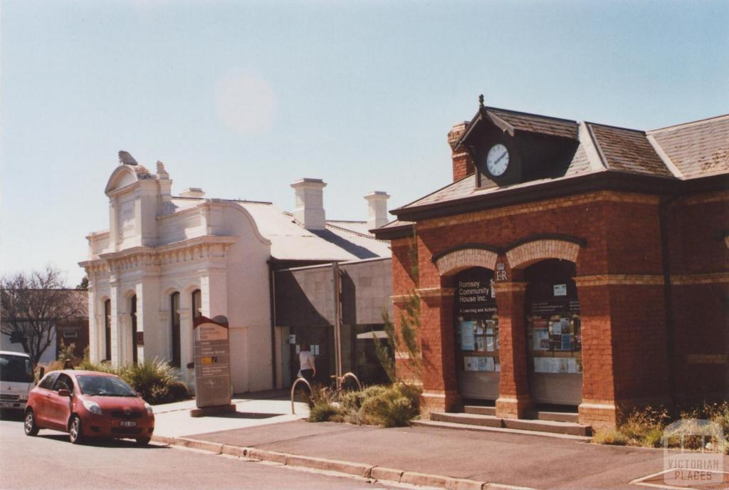 Former Post Office and Shire Office, Romsey, 2012