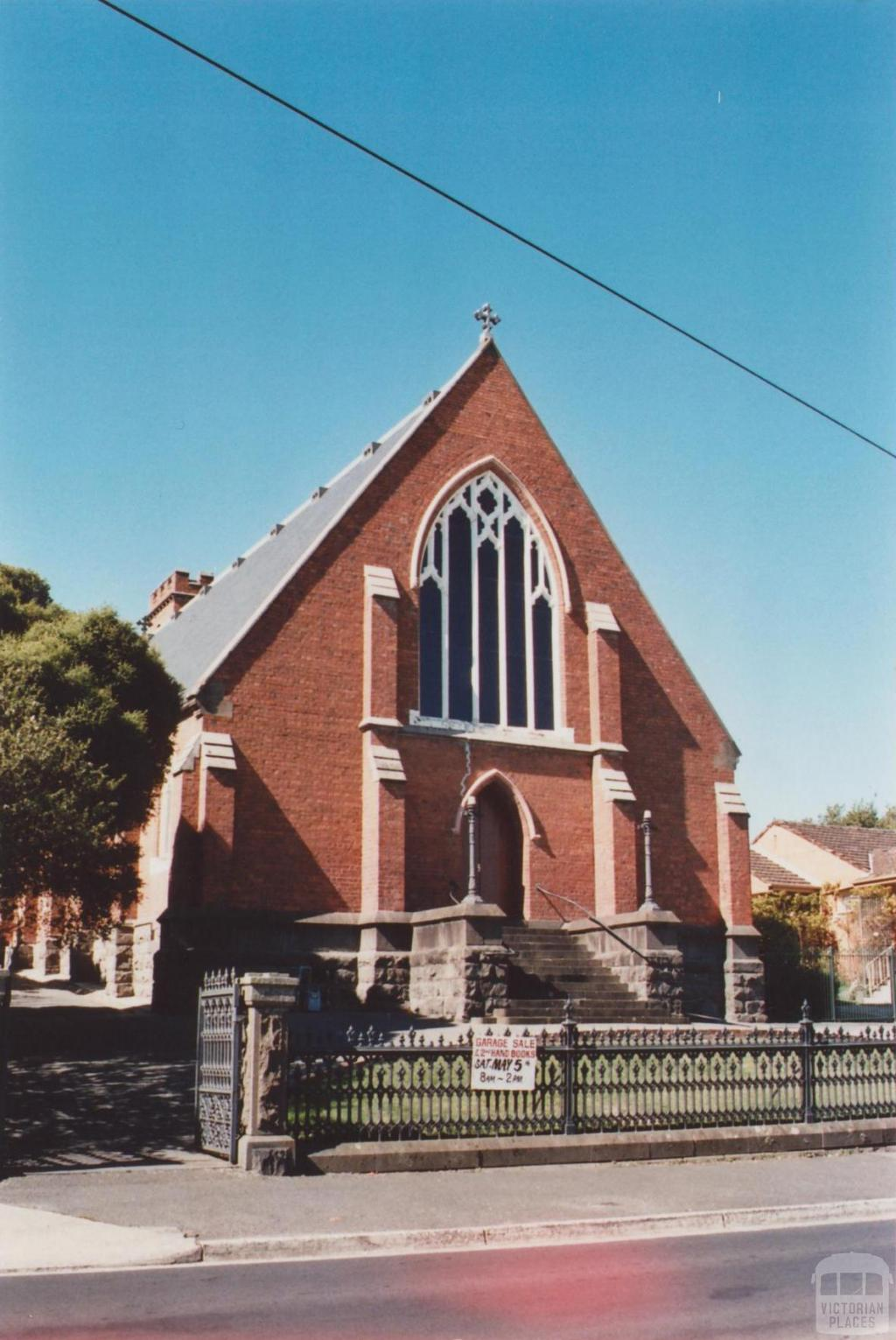 Anglican Church, Ballarat East, 2012