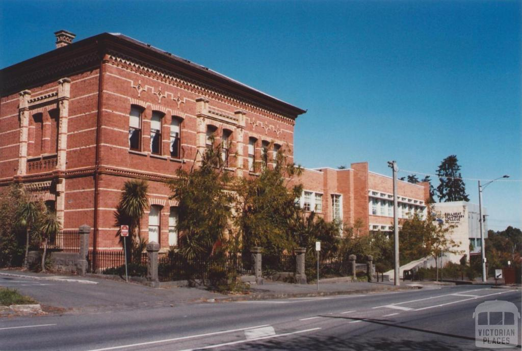 Ballarat Secondary College and original High School, 2012