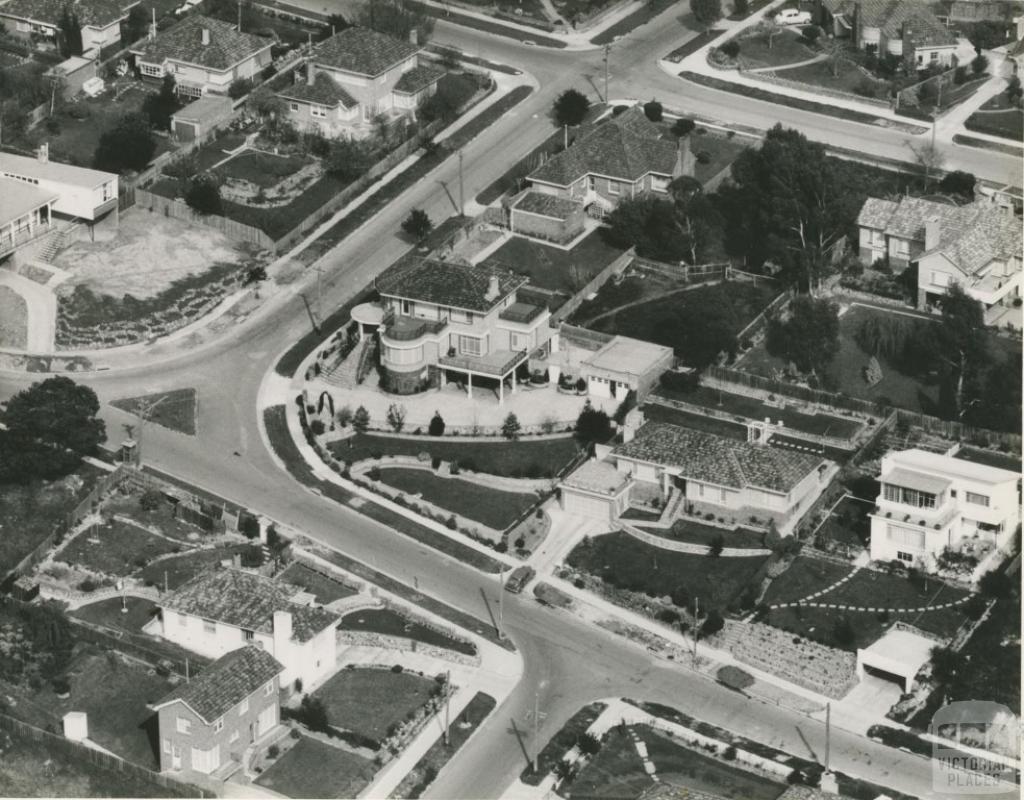 Hill Road, North Balwyn, c1950