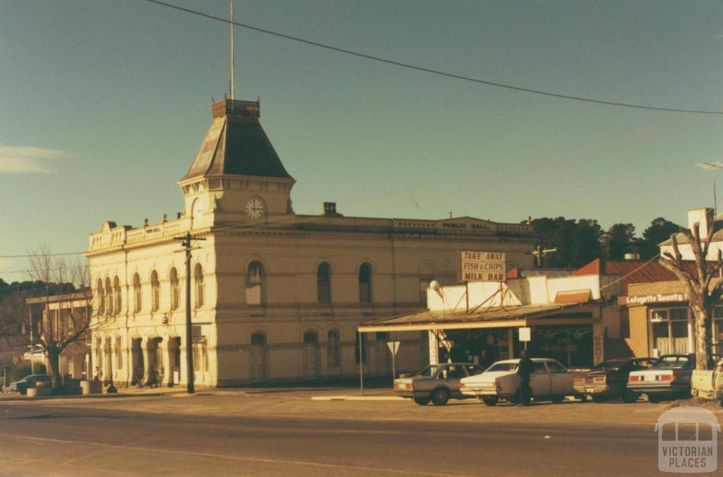 Town Hall (1876), Creswick, 1980