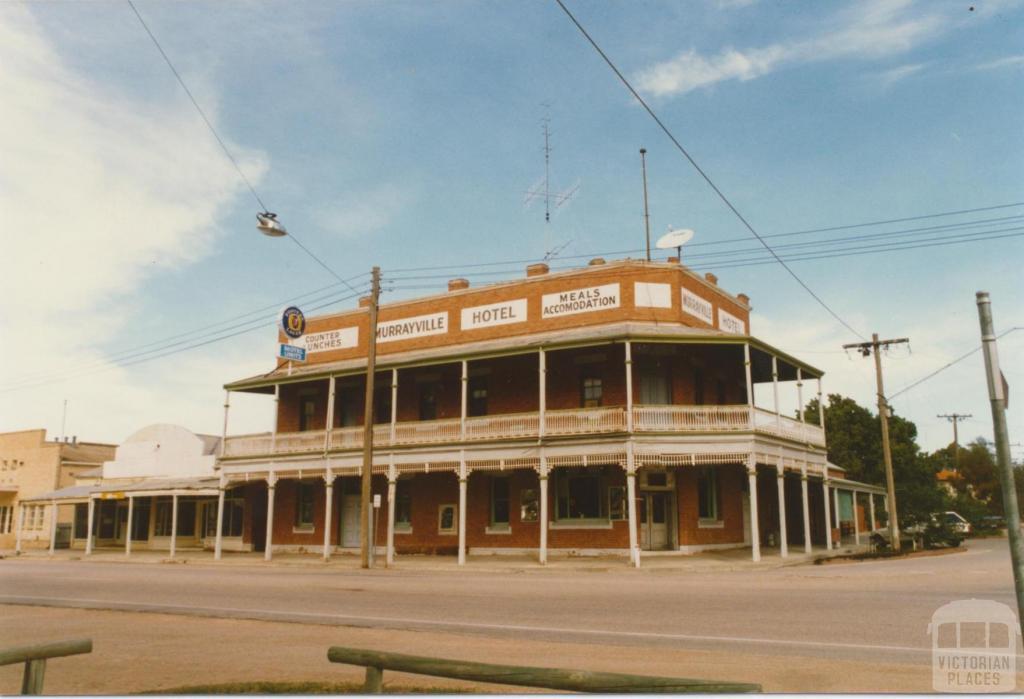 Murrayville Hotel, 1985