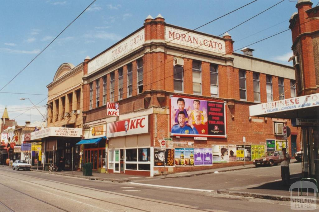 Moran & Cato, Smith Street, Fitzroy, 2000