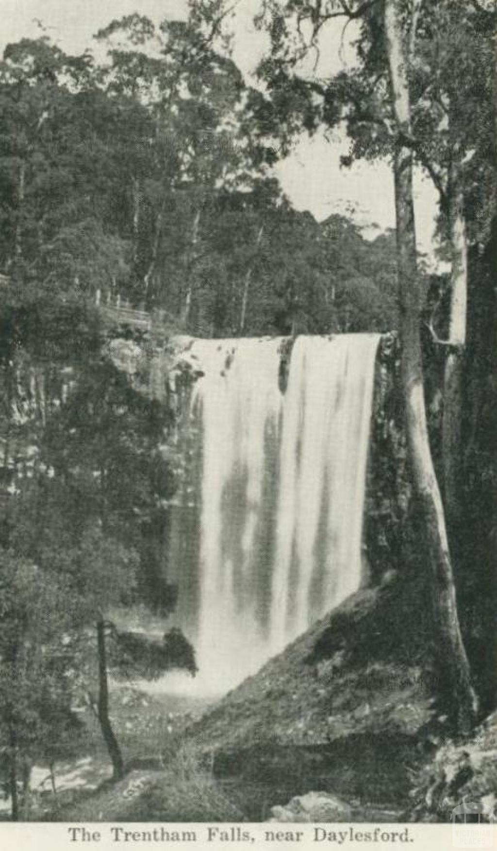 The Trentham Falls, near Daylesford
