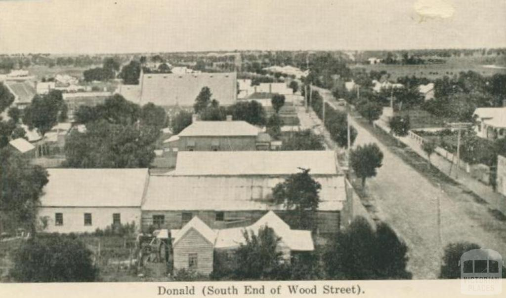 Donald (south end of Wood Street)