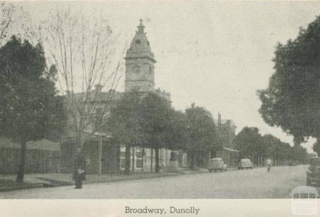 Broadway, Dunolly