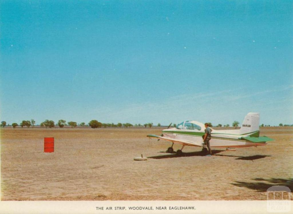 The air strip, Woodvale near Eaglehawk