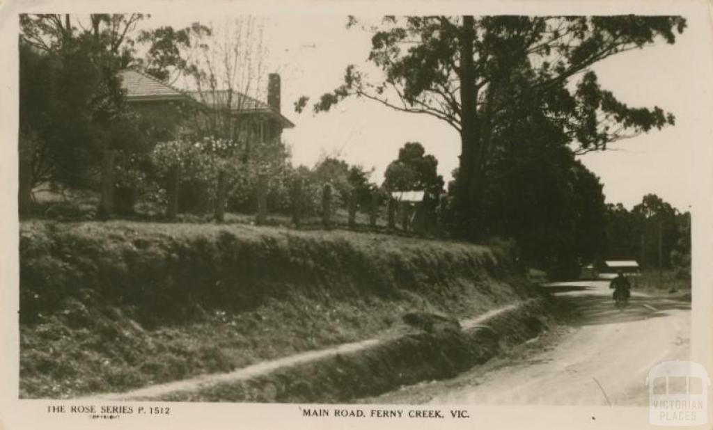 Main Road, Ferny Creek