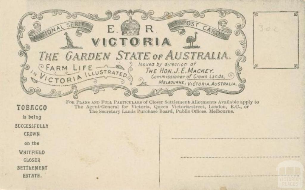 Victoria the garden state, 1908